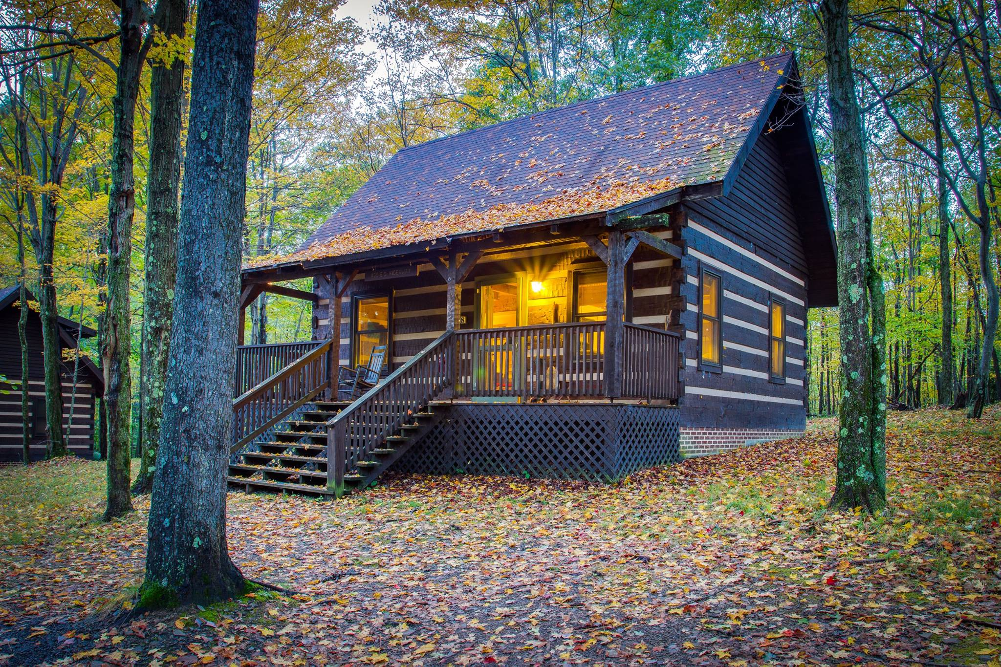 October Fall Wallpaper 8 Cozy Cabins Perfect For A Fall Getaway In Maryland