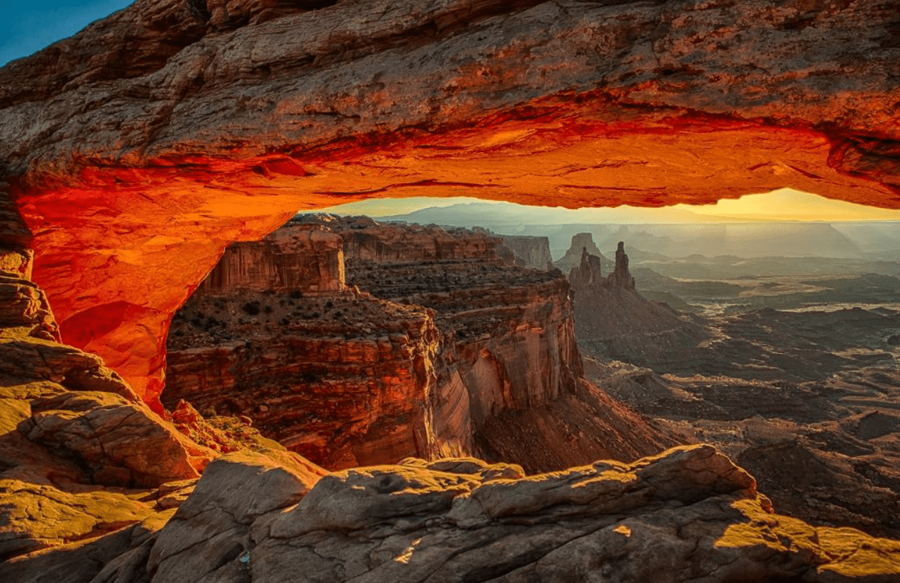 Michigan State Hd Wallpaper Mesa Arch Trail Is One Of The Shortest And Sweetest Hike
