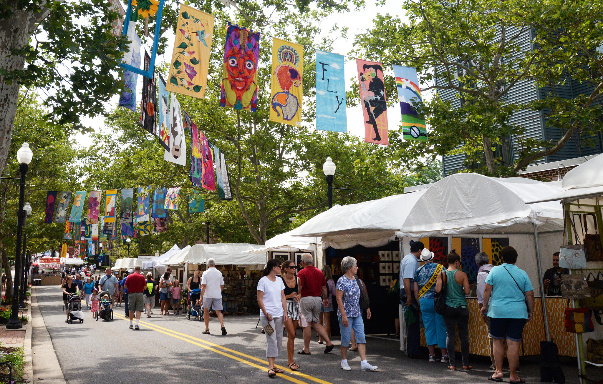 Tivoli Ny Street Painting Festival State College Pennsylvania Is One Of The Happiest Small