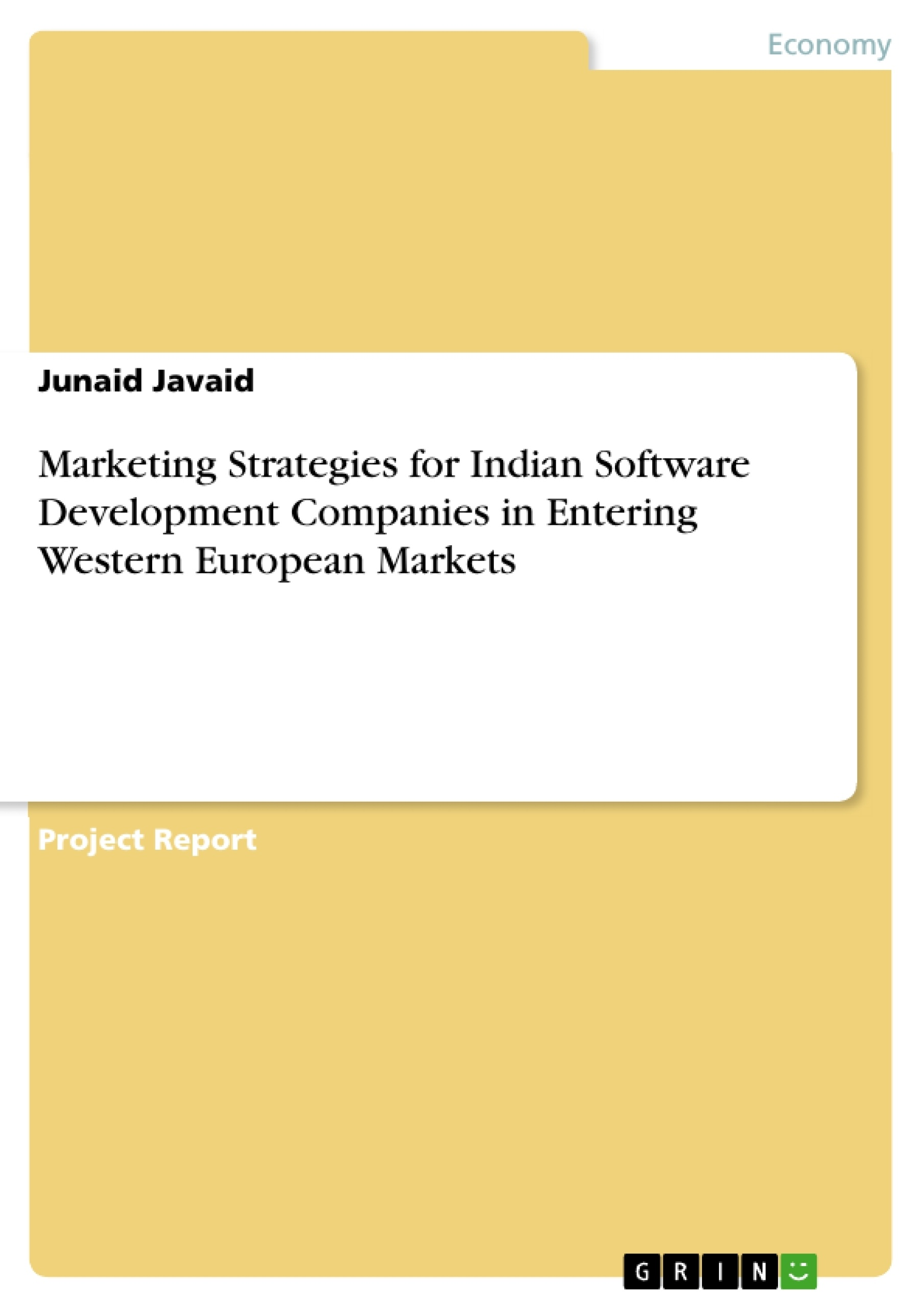 Software Developer Companies In Grin Marketing Strategies For Indian Software Development Companies In Entering Western European Markets