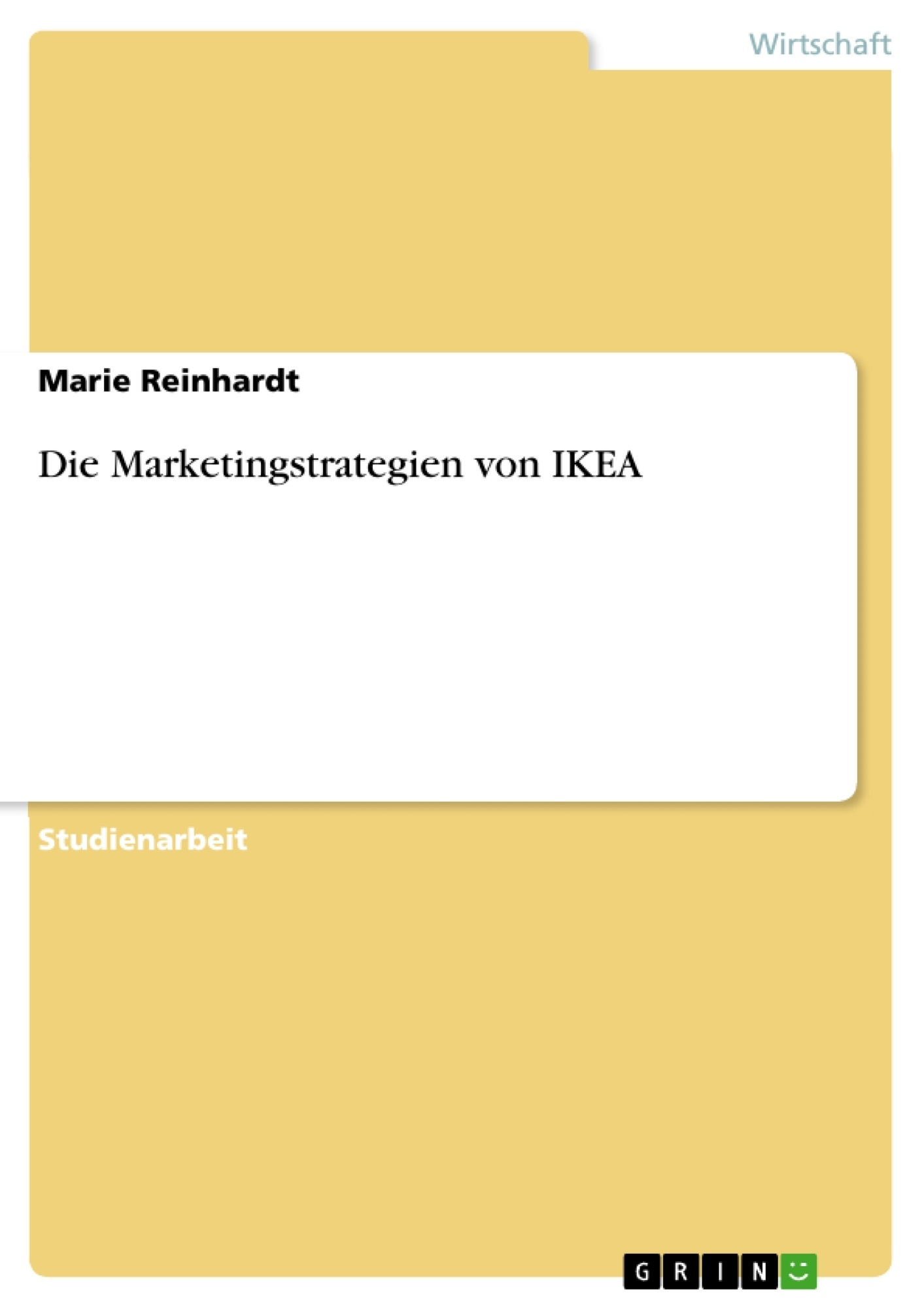 Ikea Küchen Katalog 2016 Pdf Die Marketingstrategien Von Ikea - Grin