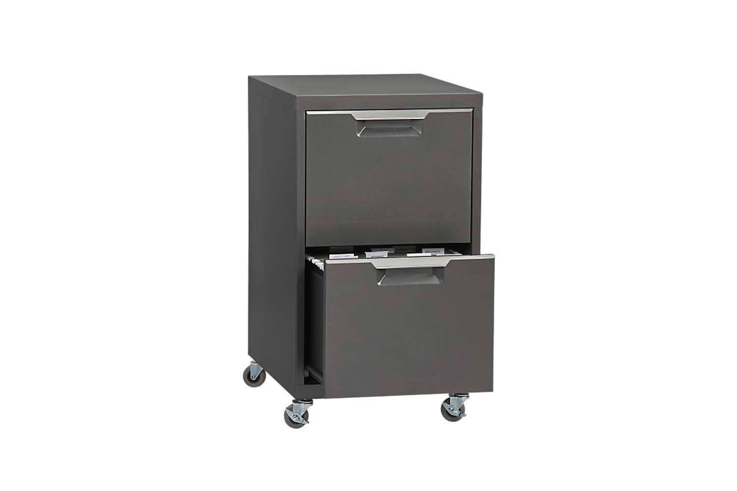 Rolling Filing Cabinets 10 Easy Pieces Modern Metal File Cabinets On Wheels The