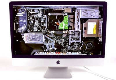 See the Inside of iMac, iPad, and iPhone with These X-Ray Wallpapers