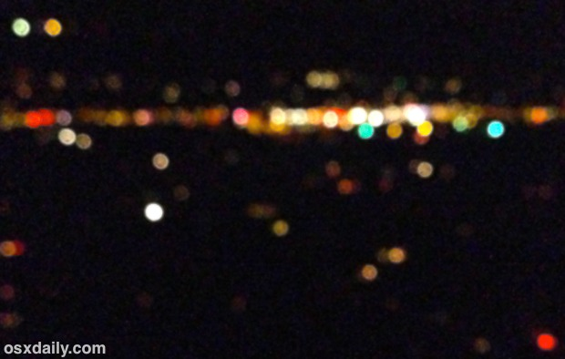 How to Get Bokeh Light Effects with the iPhone Camera
