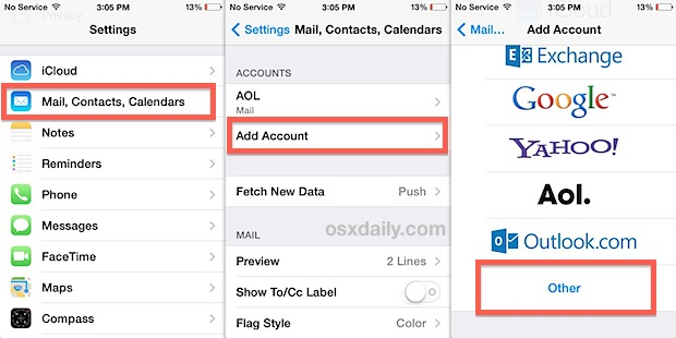 How to Sync Gmail / Google Contacts with iOS on iPhone, iPad,  iPod