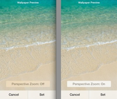 [REQUEST] Perspective Zoom (On and Off) tweak just like on iOS 7.1 would be really cool : jailbreak