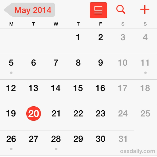 How to Set the iOS Calendar to Start on a Monday Instead of Sunday
