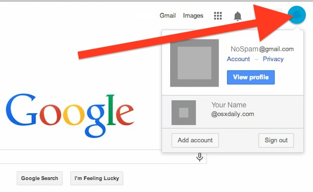 Set the Default Google Account for Multiple Gmail Account Users