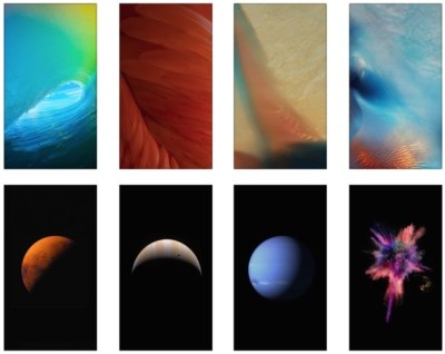 Get the 15 New Default iOS 9 Wallpapers for iPhone
