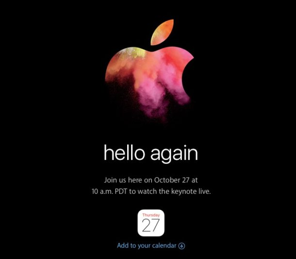 Image result for apple event october 27