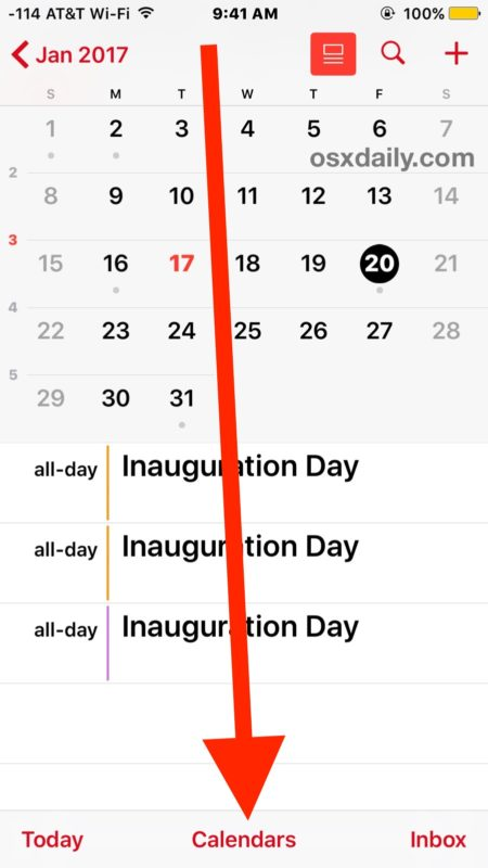 How to Share Calendars from iPhone, iPad