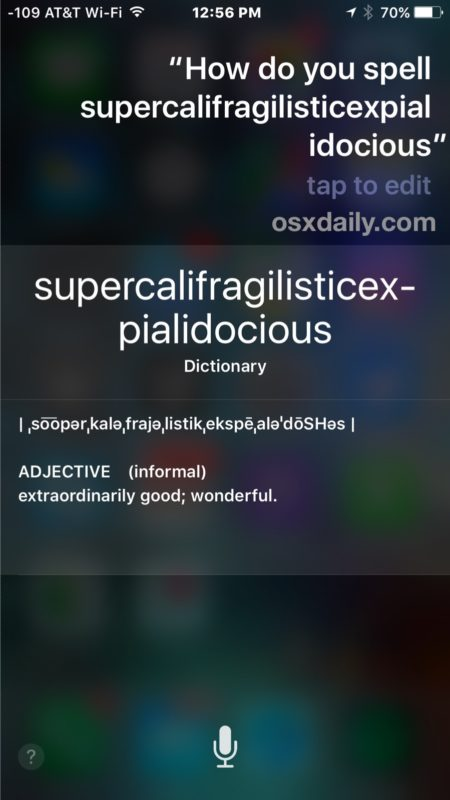 Can\u0027t Spell? Ask Siri to Spell a Word on iPhone, iPad, Mac