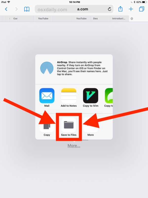 How to Save Zip Files to iPhone or iPad