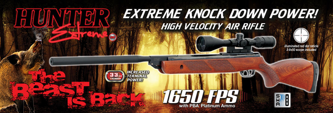 Spring Hunting Game Outdoor Usa To Re-launch The Hunter Extreme Se Air
