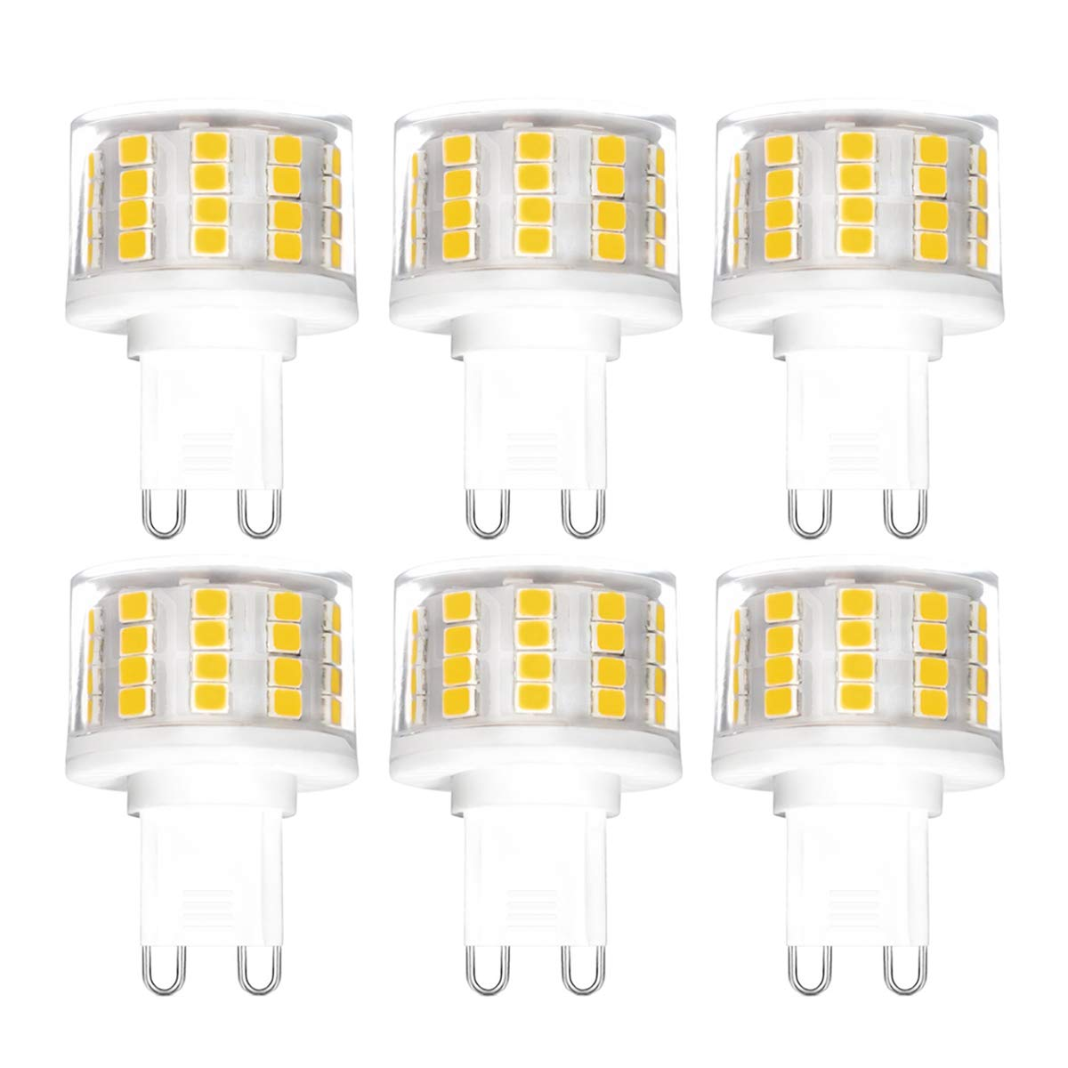Led G9 5w 17 99 G9 5w Led Light Bulbs No Flicker Dimmable 5w Equivalent