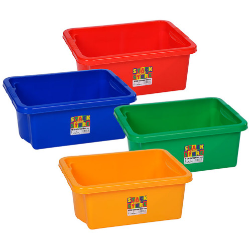 Plastikkisten Stapelbar Stackable 16 Litre Storage Box | Colourful Plastic Boxes