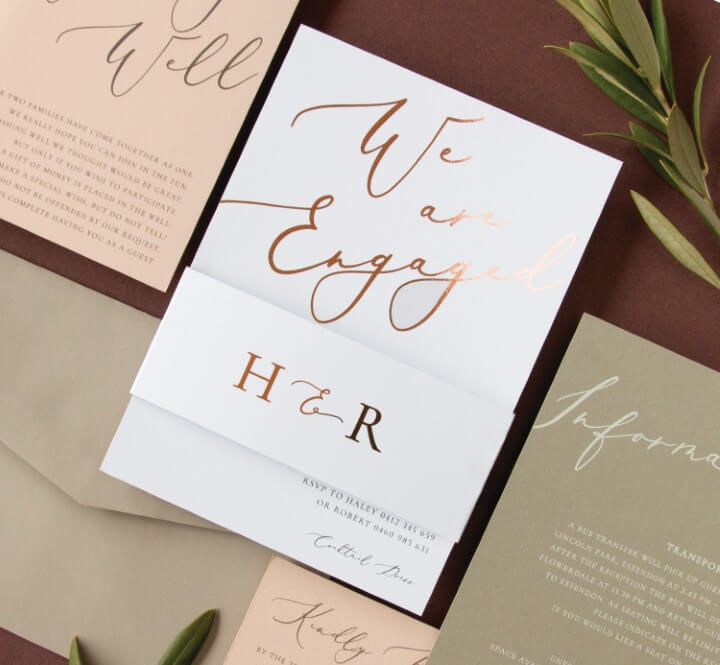 Wedding  Event Invitations By Paperlust Customise And Print Online