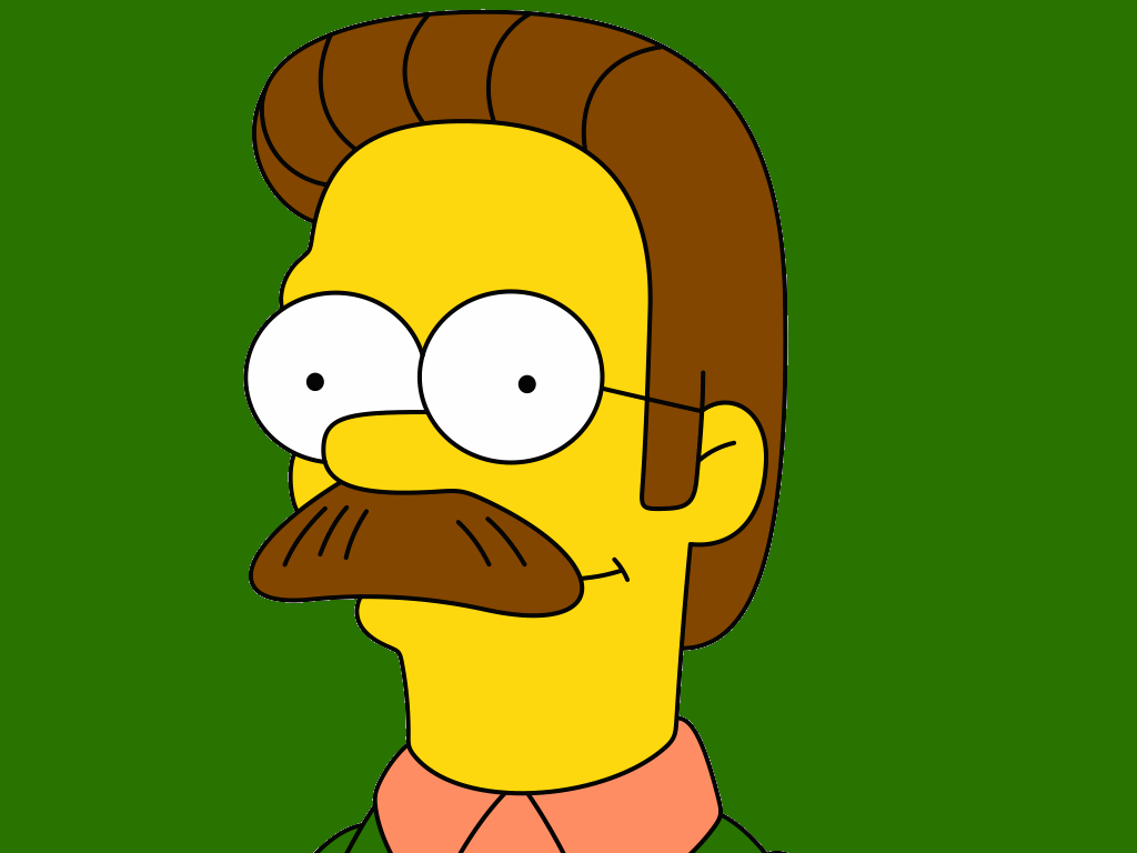 Moustache Wallpaper Hd Six Simpsons Characters Who Ve Evolved Over The Years