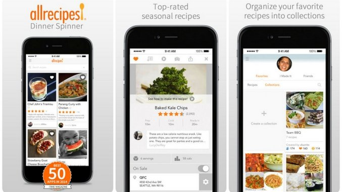 Smartphone Sous Chef The 10 Best Cooking Apps  Tech  Lists