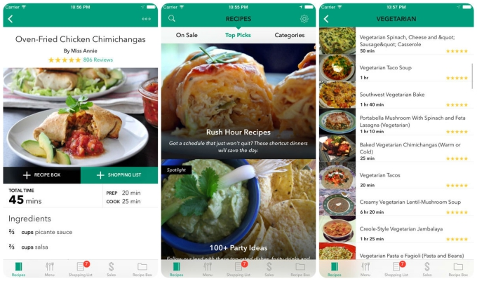 Smartphone Sous Chef The 10 Best Cooking Apps  Tech  Apps  Paste