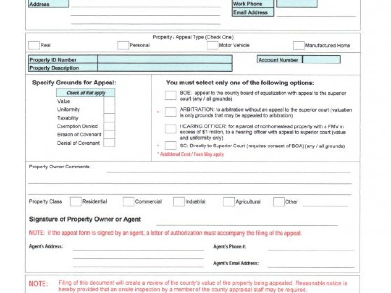 How to Appeal Property Value Assessments Part One Douglasville