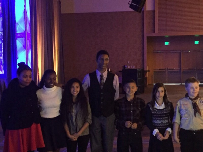 Poinsettia Elementary Students Speak at National AVID Conference