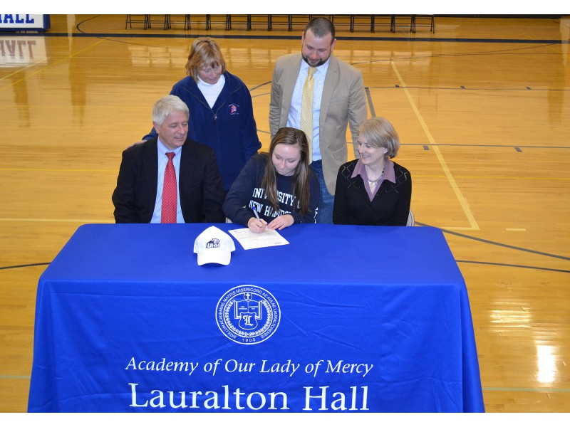 National Letter of Intent Signing at Lauralton Hall Milford, CT Patch