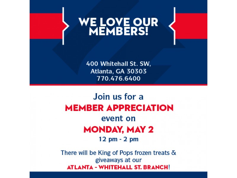 Georgia United Credit Union Invites State Employees to a Member - open house invites