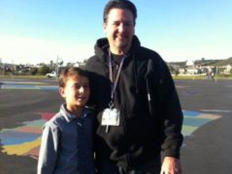 Poinsettia Elementary Principal for the Day Approves Longer Recess