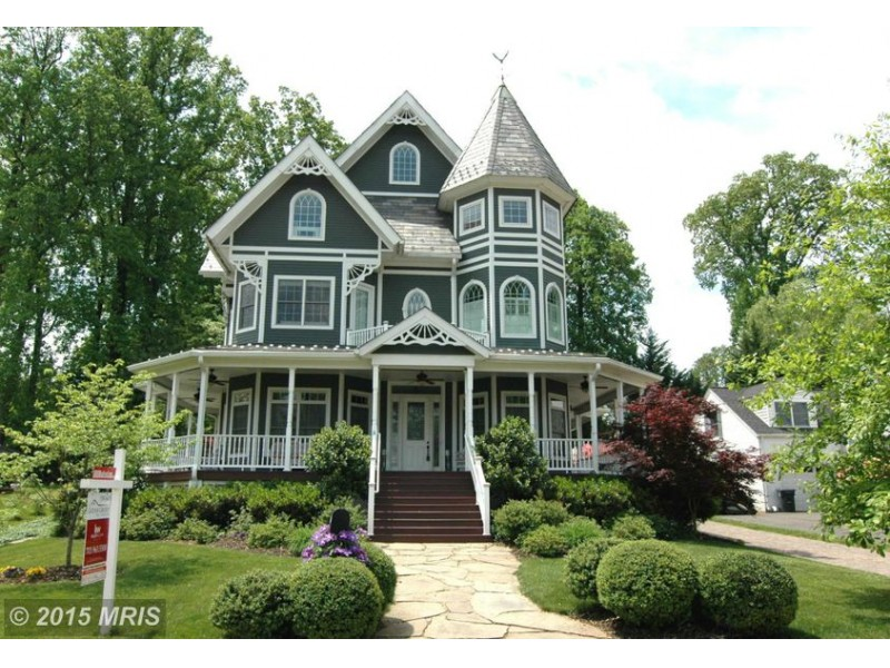 Falls Church 39wow39 House Victorian With Wraparound Porch