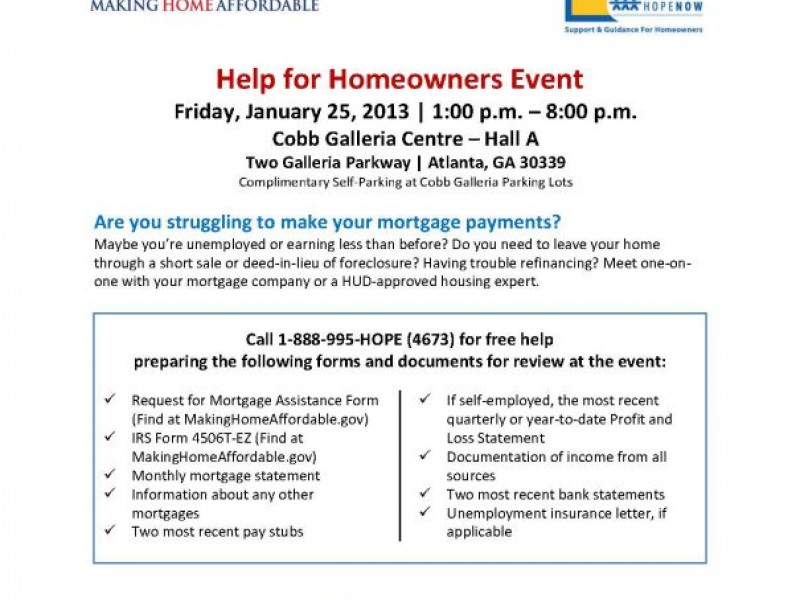 Free Help for Georgia Homeowners January 25th Lawrenceville, GA Patch - profit and loss statement for self-employed homeowners