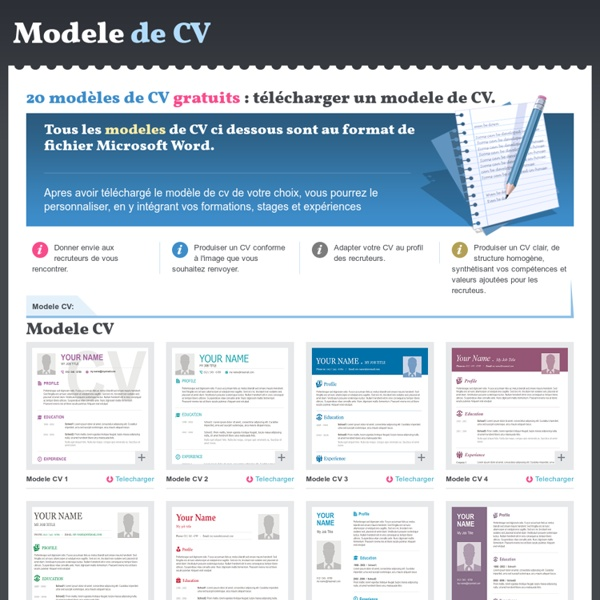 formations ou formation cv