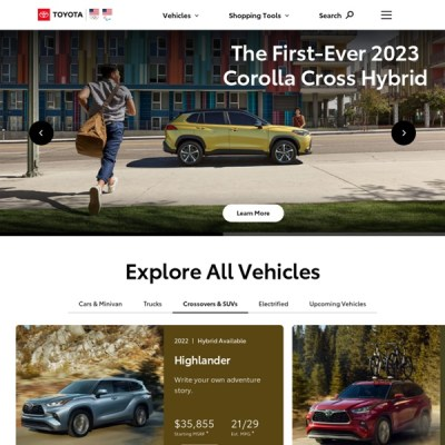 Search Results Toyota Cars Trucks Suvs Hybrids Toyota Official Site.html - Autos Weblog