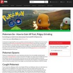 Pokemon Go How To Gain XP Fast Pidgey Grinding Leveling Fast And