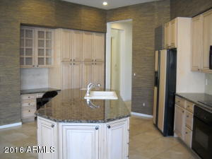 Maple cabinets with granite counters