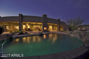 Contemporary Drystacked Stone Desert Dwelling