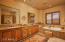 Spacious Master Bath with Jetted Tub and Walk in Shower