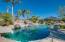 Resort backyard, great for entertaining.
