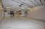4 car tandem garage w/wall to wall cabinets & room for all your toys including Boat or RV