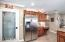 Walk-in Pantry, stainless steel appliances
