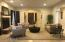 Open Plan Allows Easy Socializing From Dining Room to Formal Living Room
