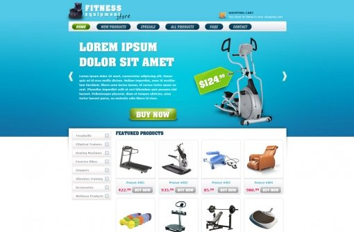 Free eCommerce Website Templates Online Store Templates PHPJabbers