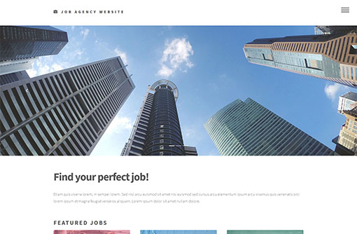 Job Website Templates Free Job Portal Templates PHPJabbers - websites to look for jobs
