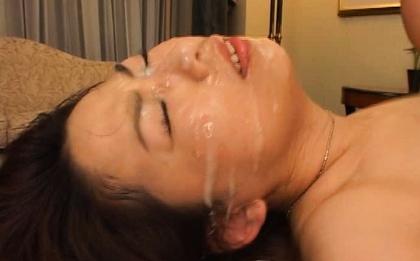 mature asian anal
