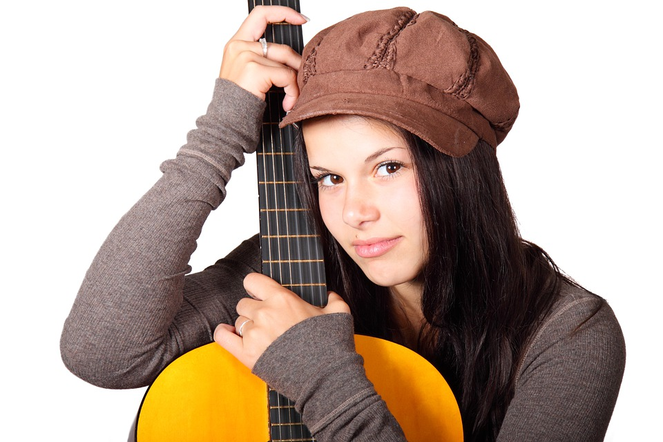 Facebook Wallpaper Hd Girl Free Photo Acoustic Guitar Cute Female Girl Free