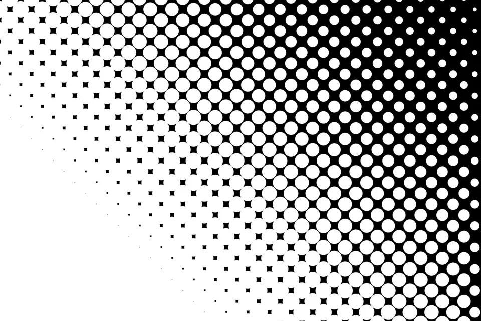 Dots Black White - Free image on Pixabay