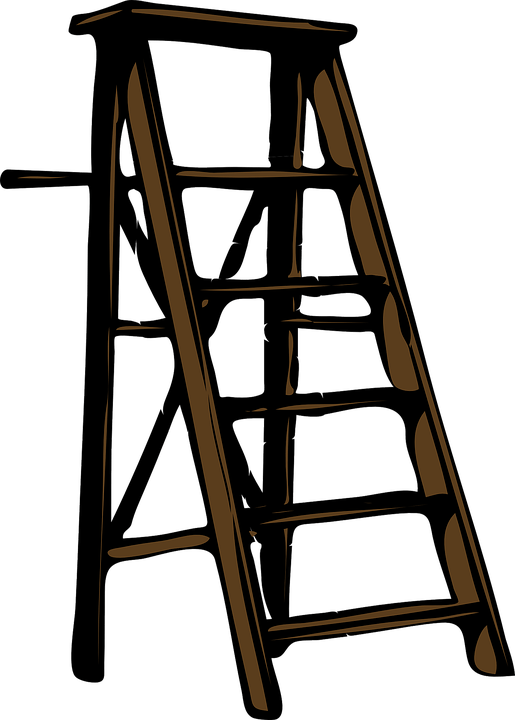 Holzstapel Clipart Ladder Wood Step · Free Vector Graphic On Pixabay