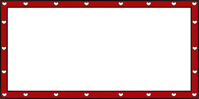Heart Girl Wallpaper Border Decorative Valentine 183 Free Vector Graphic On Pixabay