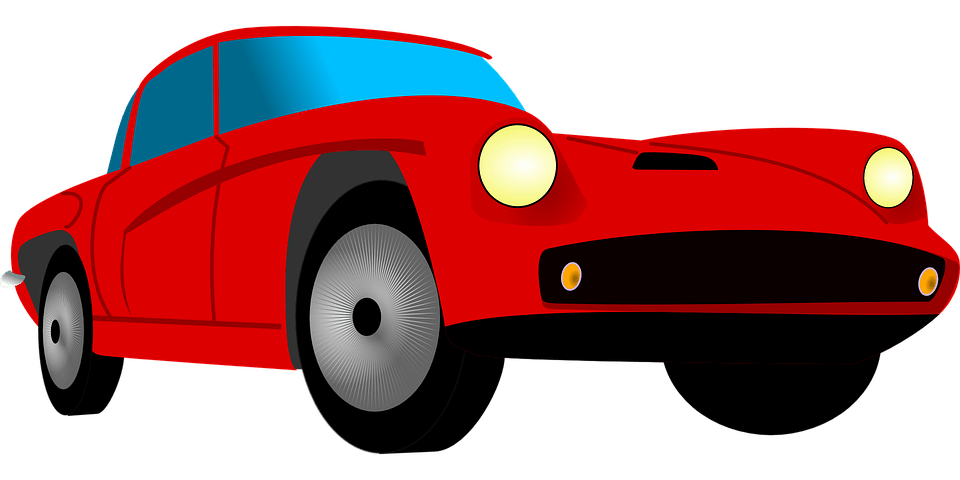 Beautiful Cartoon Girl Wallpaper Car Sport Red 183 Free Vector Graphic On Pixabay