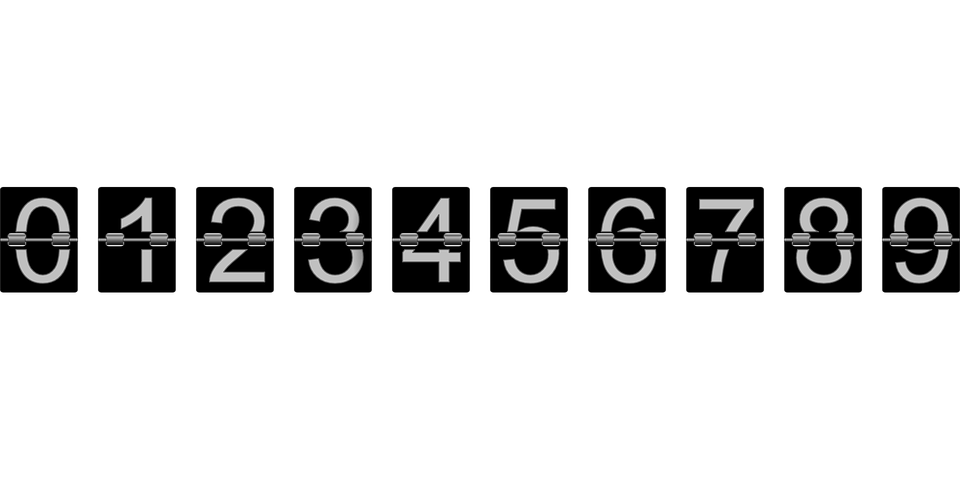 3d Wallpaper Editor Number Counter Mechanical 183 Free Vector Graphic On Pixabay